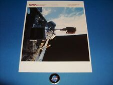 NASA 51-G EVA SPACE SHUTTLE SERIAL NUMBER PHOTO JUNE 1985 ORIGINAL