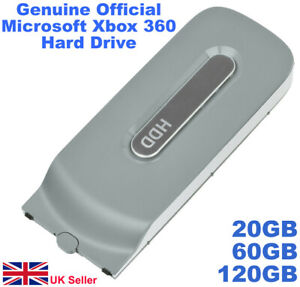 Xbox 360 Hard Drive - Official Genuine Removable HDD (20GB - 60GB - 120GB)