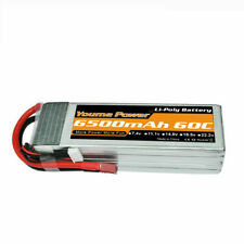 14.8V 4S 6500mAh LiPo Battery 60C Deans for RC Truck Helicopter Airplane Quad
