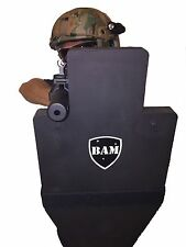 BALLISTIC SHIELD | Bullet Proof | Body Armor Level III+ L3+ 12x23 STOPS 556 308