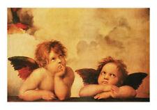 Poster Kunstdruck Angeli Raffael Engel Putten Fresken Angel Bild Barock 100x70