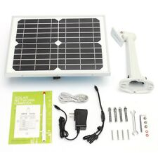 Wireless Outdoor Solar Battery Security IP Camera Wifi Web Surveillance