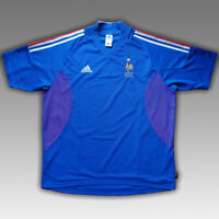 France 2002 2004 Home Football Soccer Shirt Jersey Adidas Camiseta Vintage Kit