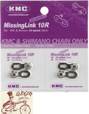 KMC MISSING LINK 10 SPEED 5.9MM SHIMANO-KMC BICYCLE CHAIN LINKS--PACK OF 2