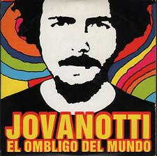 "JOVANOTTI - RARO CDs PROMO IN SPAGNOLO "" EL OMBLIGO DEL MUNDO """