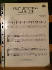 Crazy little thing called love Queen partition guitare tablature éditions EMI