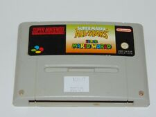 Super Nintendo: Super Mario All Stars + World (cartucho, PAL-EUR)