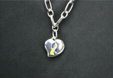 Down Syndrome Awareness Bracelet Heart Love Silver IN GIFT BOX