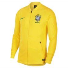 Nike Brasil Himno Chaqueta de entrenamiento huelga De Hombre Talla XXL  AJ4028-749 AMARILLO Nuevo con etiquetas 8c30db075b9