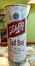 """Vintage Schlitz Pull Tab 3/4 Quart Beer :Tall Boy"""""""