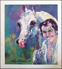 LeRoy Neiman Poster Wayn horse  Make an Offer!!