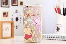 Mouse Cute Cartoon Clear Crystal Silicone TPU Soft Case Cover for iPhone 6 6s