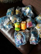 McDonalds 2015 Minion Toys Most In Wrapper Lot Of 12