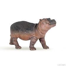 W3) PAPO 50052 Nilpferd Baby Flusspferd Hippo Hippooatme  Safari Savanne