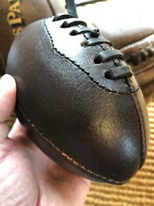 Mini Vintage Leather Rugby Ball Baby Gift Gift