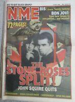 NEW MUSICAL EXPRESS 6 APRIL 1996 STONE ROSES SPLIT