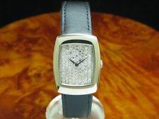 DeLaneau 18kt 750 Or à Remonter Manuellement Montre Femmes Diamant Cadran