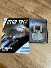 More details for eaglemoss star trek collection- starship & magazine #108- uss ahwahnee cheyenne