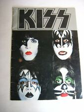 KISS Dynasty Concert Tour Book Program 1979 Aucoin Gene Sunn Amp Ad