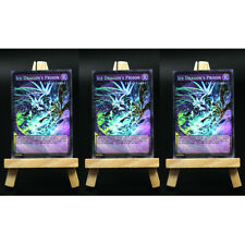 Yugioh ORICA 3x-Playset: Ice Dragon's Prison Full-Art | Holo Custom Card