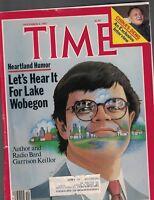 Time Magazine November 4 1985 Garrison Keillor China Deng Xiaoping