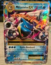 M Blastoise EX XY Evolutions 22/108 Full Art Holo Ultra Rare Pokemon Card