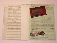 Vespa Cosa 200 Heck Rahmen Teil Fahrgestell VSR1T Fahrzeugbrief von 1989 Papiere