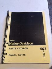 1968 HARLEY  AERMACCHI   RAPIDO 125CC   PARTS CATALOG 99450-73A