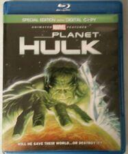Planet Hulk (Blu-ray Disc, 2010, Canadian)