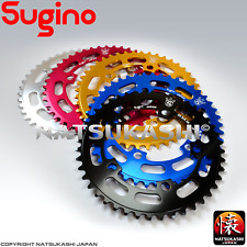 Sugino Old School BMX Chainring 1/8 - 110 BCD, Red, Gold, Silver