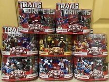 Transformers Robot Heroes Huge Lot Optimus Megatron Grimlock Shockwave Etc...
