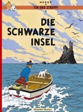 TIM UND STRUPPI 6 Die Schwarze Insel Hergé tintin Comic