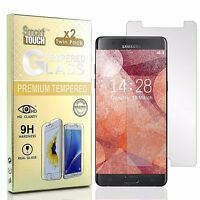 For Galaxy NOTE 7 FE ( 4 x PACK ) Clear Tempered Glass Scratch Proof 9H Hardness