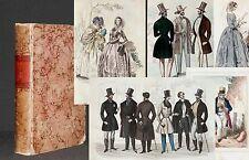 MODEZEITSCHRIFT 1842 mit 29 kolorierte Modekupfer+ 2 Stiche RAR