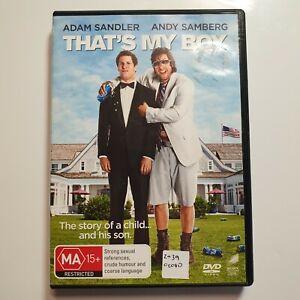 That's My Boy   DVD Movie   Adam Sandler, Andy Samberg   Comedy/Drama   2012