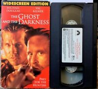 """The Ghost And The Darkness"" VHS Widescreen Edition Val Kilmer"