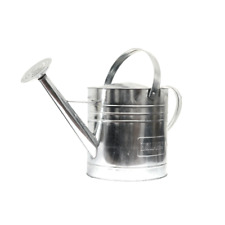 Holman 9l Galvanised Watering Can Two Handles Durable Even Distribution Balance