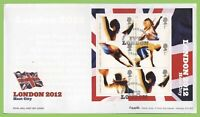 G.B. 2005 London Host City M/S on u/a Royal Mail First Day Cover, London E15