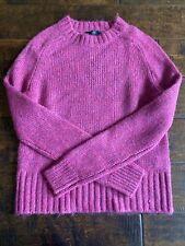 J Crew women sweater pink NWOT XXS