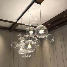 LED Glass Bubble Pendant Lamp Chandelier Ceiling Light Fixture Living Room