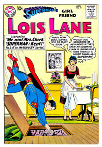 LOIS LANE SUPERMAN'S GIRL FRIEND #19 in VF- condition a 1960 DC Silver Age comic