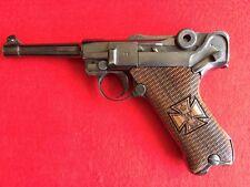 Luger P.08 Pistol Grips Walnut wood 1919 engraved