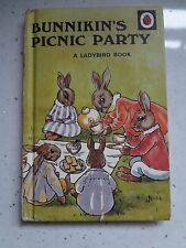 Ladybird Book. Bunnikin's Picnic Party. by A.J. Macgregor, W. Perring Hardback
