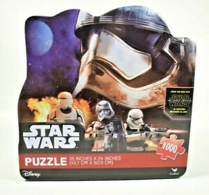 """Cardinal - Disney Star Wars """"Stormtrooper"""" Collector's 1000 Pc Jigsaw Puzzle New"""