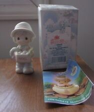 1992 Precious Moments Figurine #529435 Boy With Box of Ornaments NIB