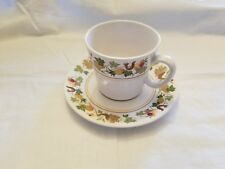 Vintage Noritake Progression Homecoming 9002 Cup and Saucer Made in USA