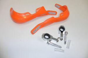 Handprotektoren Handguards Handschützer Protektoren orange KTM Exc 300 400 450