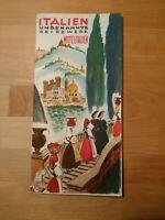 Italien Unbekannte Reisewege - Staaliches Italienisches Fremdenverkehrsamt 1955
