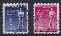 DDR Mi Nr. 459 - 460 aus Block 11, gest., Tag der Befreiung 1955, used
