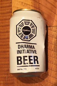 Authentic LOST TV Series Prop - Dharma Initiative Beer Can (COA)